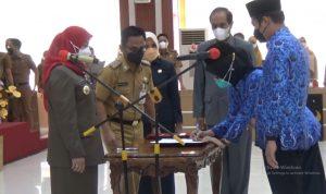 Pemkot Bandar Lampung Lantik Pejabat Fungsional ASN || 5w1hindonesia.id